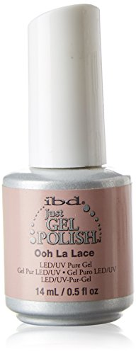 IBD Just Gel Soak Off Light Pink Nail Polish, Ooh La Lace
