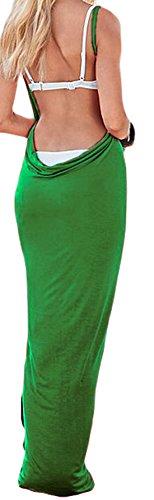Lewi Brun - Camisola - Básico - Sin mangas - 70 DEN - para mujer Verde