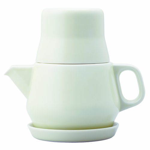 Couleur 3 Piece 0.53 Qt. Teapot Set Color: White by Kinto