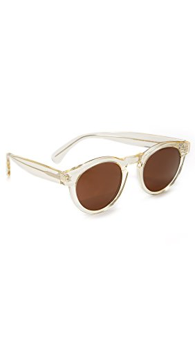 Illesteva Men's Leonard Sunglasses, Champagne/Brown, One - Leonard Illesteva Sunglasses