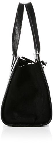 15x22x12 cm Bow H Black femme W Tote Dorothy Perkins Cabas x L Mini Rqw1q0x8