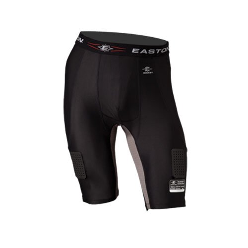Easton Sports, Inc. Stealth Compression Senior Hockey Jock Shorts - Black - ()