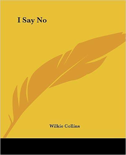 Book I Say No