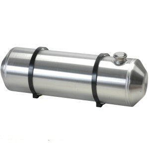 10 Inches X 20 - Spun Aluminum Fuel Tank End Fill 6.80 Gallons