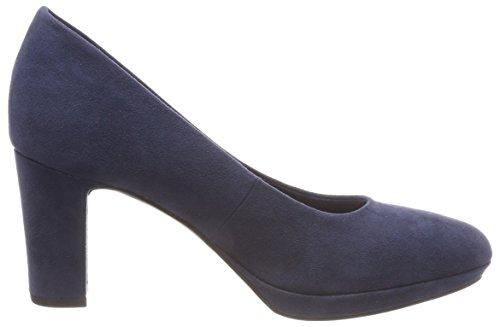 805 22420 bout Tamaris Chaussures Femme Marine Noir à fermé Bleu zwREqIE