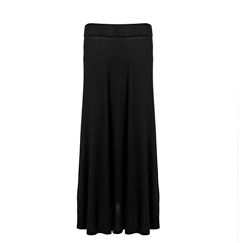 Zicac - Falda - trapecio - para mujer negro