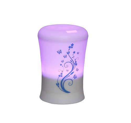 BriteLeafs-2-in-1-Ultrasonic-Aroma-Diffuser-Ultrasonic-Humidifier-4-Timer-Settings-6-Color-Light-Changes-Free-10ml-Aromatherapy-Essential-Oil-Lavender