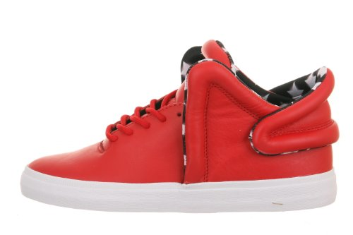 Supra Falcon, athletic red white Athlectic Red/White-White