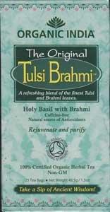 Bio Tulsi Brahmi India Organic 25 Beutel