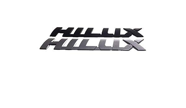 "CHROME EMBLEM /""HILUX/"" BACK TAILGATE LOGO FIT TOYOTA HILUX REVO M70 M80 2015-ON"