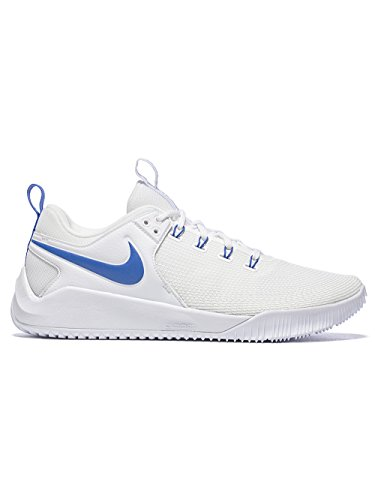 NIKE Women's Air Zoom Hyperace 2 Shoes, White/Game Royal, 12 B US