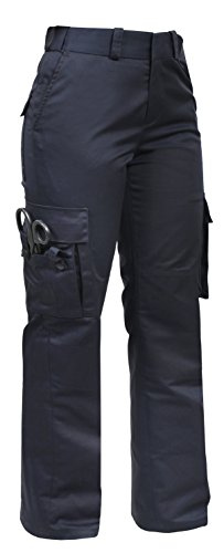 Rothco Women's EMT Pants, Midnight Navy Blue, 8