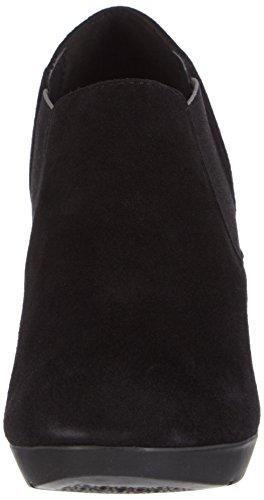 Geox D Inspiration  - Zapatos de vestir para mujer Black