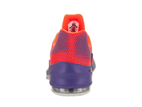 Nike Air Max Mens Infuriare Bassa Scarpa Da Basket Cremisi Totale / Nero