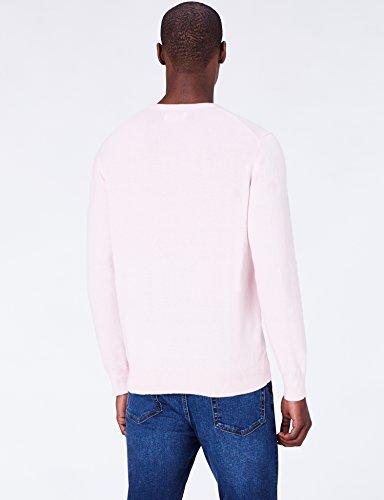 Rosa pale Uomo Pullover Meraki Pink Girocollo Cotone Xd0IXqnx