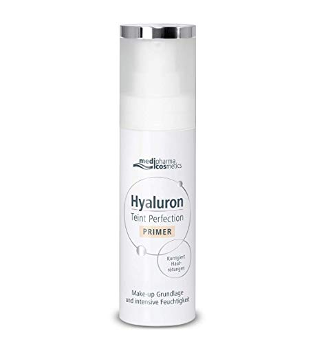 MediPharma Cosmetics Hyaluron Booster Tint Perfection Primer - Provides Even Complexion & Moisture - Reduces Wrinkles & Pores - Dermatologist Tested - Suitable For All Skin Types - 30 ML