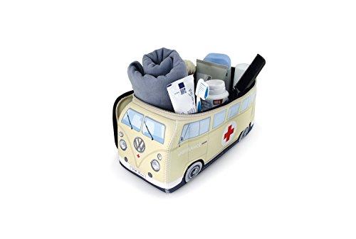 Brisa VW Collection - Volkswagen T1 Bulli Bus Universal-Schmink-Kosmetik-Kultur-Reise-Hausrats-Tasche-Mäppchen-Beutel
