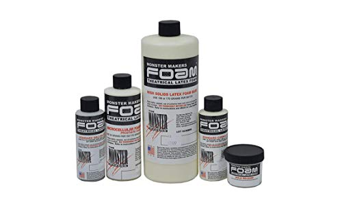 The Monster Makers Complete Foam Latex Kit: 1 Quart (Prosthetic ()