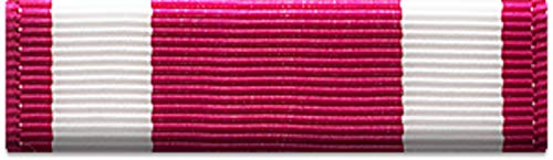 Slide-on Ribbon with Mounting bar: MERITORIOUS SERVICE - Meritorious Ribbon Medal Service