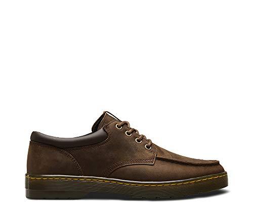 Brown De 207 Wilmot Dark Low Cordones Dr Martens Pu Hombre Derby Para Marrón And gaucho Polyurethane Zapatos Crazyhorse x6TqIn