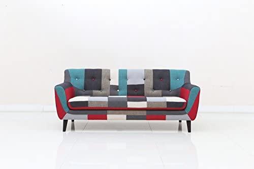 Beco - Sofá 3 plazas sofá Salón paisaje y sillas muebles ...