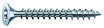 SPAX Universalschraube, 3,5 x 40 mm, 200 Stü ck, T-STAR plus, Senkkopf, Vollgewinde, 4CUT, WIROX A3J, blank verzinkt, 1191010350403 SPAX International GmbH & Co. KG