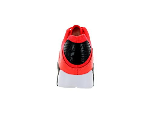 da Leather Scarpe Max 90 ginnastica White Black Uomo NIKE Air Red aZOxwqXX