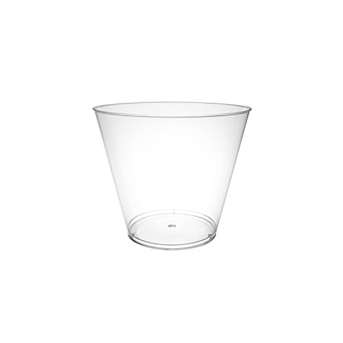 Party Essentials Hard Plastic 5-Ounce Party Cups/Tumblers (300-Count)