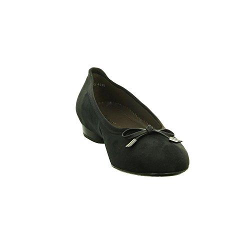 Kleiner Absatz 01 Damen by ARA Weite schwarz G Jenny Ballerina 53321 801wvxvq