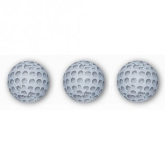 Madelaine Solid Milk Chocolate Golf Balls Wrapped In Italian