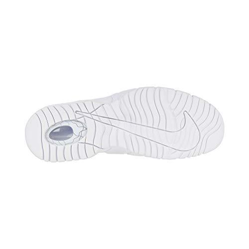 Basse Penny da NIKE Silver Ginnastica White Bianco Max Uomo Scarpe Metallic 100 Air White EAqwBYxwg