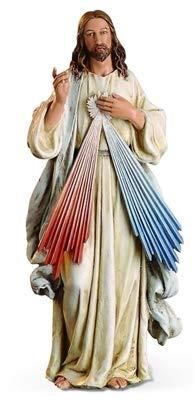 Woodington's Joseph's Studio Divine Mercy 10 Inch Statue