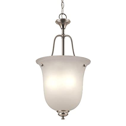 Project Source Fallsbrook In W Brushed Nickel Pendant Light