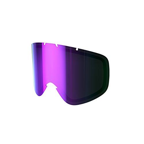 POC Iris Écran pour Masque de Ski Mixte Gris/Purple Mirror