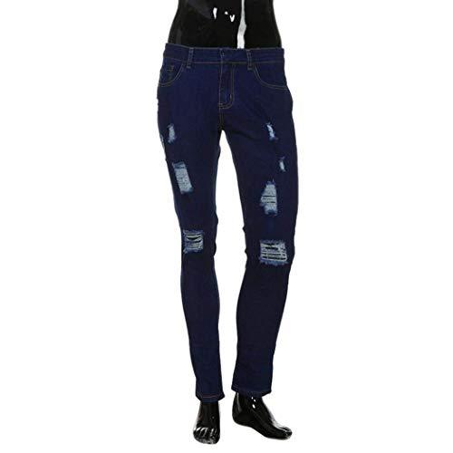 para Rasgados Slim Pantalones M Y para Hombres Nn Azul Elásticos Oscuro Vaqueros Skinny Hombre Vaqueros Pantalones Fit Encolados Pegados Dunkelblau A5wfBPw1xq