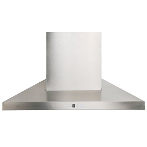 CAVALIERE AP238-PSL-42 Wall Mounted Stainless Steel Kitchen Range Hood 860 CFM by CAVALIERE