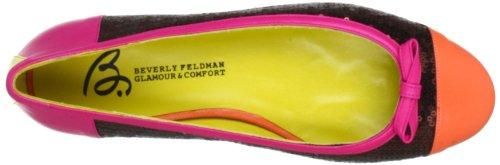 Beverly Feldman CHICA_2 50120-710-685 - Bailarinas de cuero para mujer Marrón (Braun (Multi Brite))