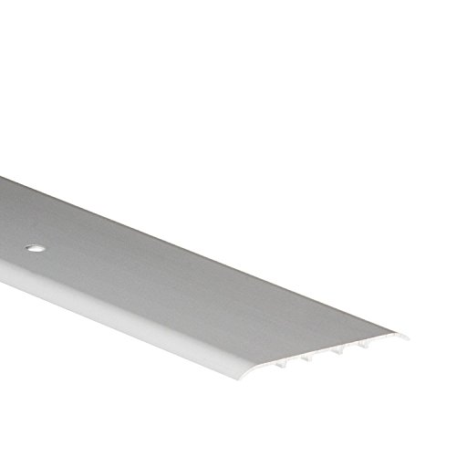 80 mm (3.15″) Width in 1M (39.37″) Carpet Cover Aluminium Door Bars Threshold TMW Profiles (Silver)