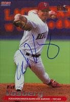 Ed Vosberg Scranton/W-B Red Barons - Phillies Affiliate 2001 Choice Autographed Card - Minor League Card. This item comes with a certificate of authenticity from Autograph-Sports. Autographed