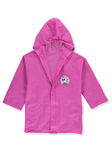 Group Ruz Frozen Anna & Elsa Girl's Waterproof Hooded Raincoat