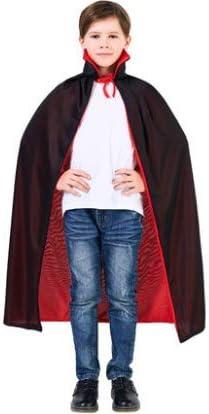 Disfraz de Halloween Cabo Negro Vampiro Capa Horror Zombie Ropa ...