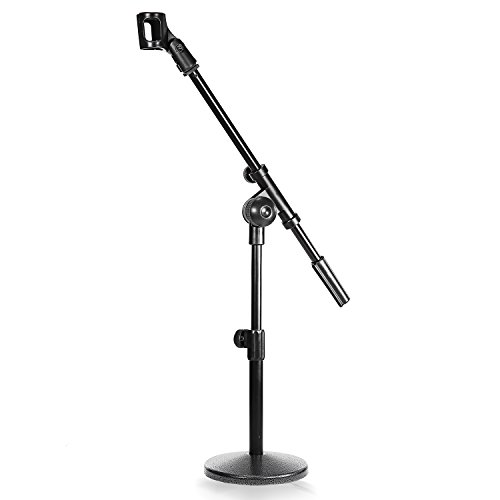 Neewer Microphone Heavy duty Telescoping Iron Black