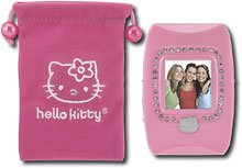 """Hello Kitty 1.5"""" Digital Photo Frame & digital audio player with video plaback"""