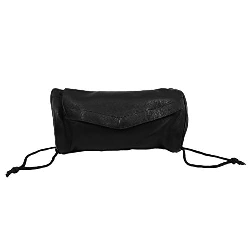 (Genuine Soft Leather Universal Motorcycle Tool Bag)