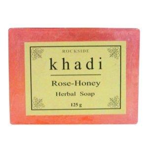khadi rose handmade premiun soap 125g/4.4oz