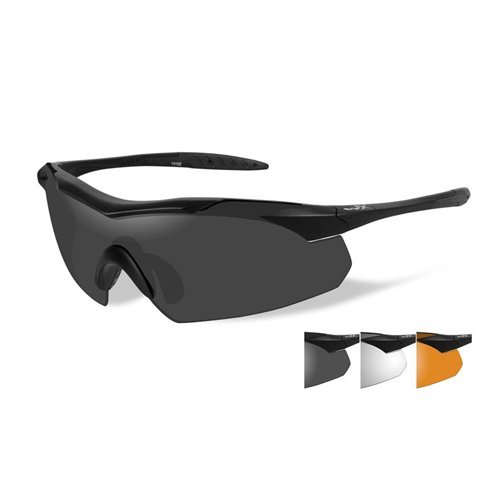 Wiley Lenses X Prescription (Wiley X 3502 Wx Vapor Changeable Sunglasses, Smoke Grey)