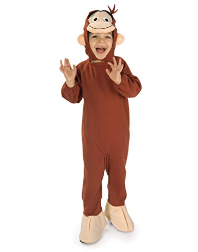 Curious George Child Costumes - Curious George Toddler/Child Costume - Child