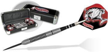 Piranha Razor Grip Steel Tip Darts (Set of 3) Weight: 24 grams