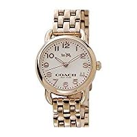 Coach Maddy Ladies Rose Gold-Tone Watch (White Dial)