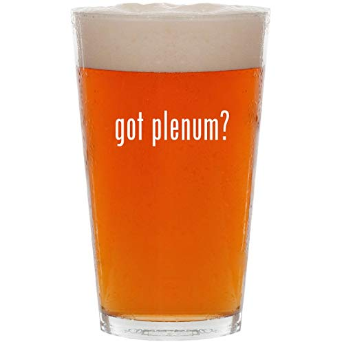 - got plenum? - 16oz Pint Beer Glass